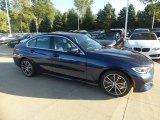 2020 Mediterranean Blue Metallic BMW 3 Series 330i xDrive Sedan #135592257