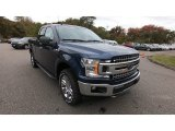 2019 Blue Jeans Ford F150 XLT SuperCab 4x4 #135592310