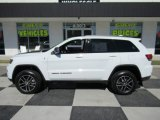 2017 Bright White Jeep Grand Cherokee Trailhawk 4x4 #135592218