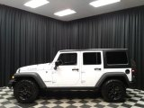 2017 Bright White Jeep Wrangler Unlimited Willys Wheeler 4x4 #135592003