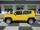 2018 Solar Yellow Jeep Renegade Latitude #135592215