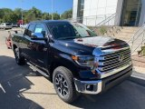 2020 Midnight Black Metallic Toyota Tundra Limited Double Cab 4x4 #135592122