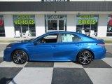 2019 Blue Streak Metallic Toyota Camry SE #135614401