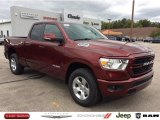 2020 Delmonico Red Pearl Ram 1500 Big Horn Quad Cab 4x4 #135619742