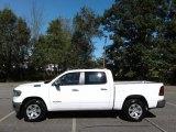 2020 Bright White Ram 1500 Laramie Crew Cab 4x4 #135619598
