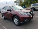 2012 Basque Red Pearl II Honda CR-V EX 4WD #135619660