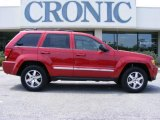 2009 Jeep Grand Cherokee Blaze Red Crystal Pearl