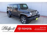 2017 Granite Crystal Metallic Jeep Wrangler Unlimited Sahara 4x4 #135632845