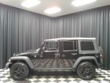 2016 Black Jeep Wrangler Unlimited Willys Wheeler 4x4 #135632608