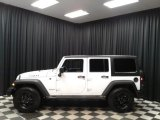 2016 Bright White Jeep Wrangler Unlimited Willys Wheeler 4x4 #135632607