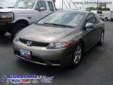 2006 Galaxy Gray Metallic Honda Civic EX Coupe #13531269