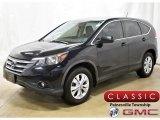 2012 Crystal Black Pearl Honda CR-V EX 4WD #135657954