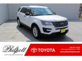 2016 Oxford White Ford Explorer FWD #135657923