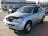 2005 Ice Blue Metallic Kia Sorento LX 4WD #13519274