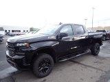 2020 Black Chevrolet Silverado 1500 LT Trail Boss Crew Cab 4x4 #135671333