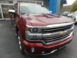 2017 Siren Red Tintcoat Chevrolet Silverado 1500 High Country Crew Cab 4x4 #135671204