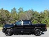 2020 Diamond Black Crystal Pearl Ram 1500 Rebel Crew Cab 4x4 #135671150