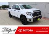 2020 Super White Toyota Tundra TSS Off Road CrewMax 4x4 #135691406