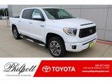2020 Super White Toyota Tundra Platinum CrewMax 4x4 #135691404