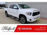 2020 Super White Toyota Tundra Platinum CrewMax 4x4 #135691403