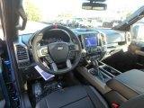 2020 Ford F150 SVT Raptor SuperCrew 4x4 Raptor Black Interior