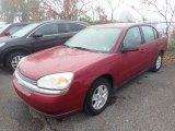 2005 Sport Red Metallic Chevrolet Malibu LS V6 Sedan #135715843