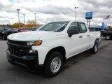 2020 Summit White Chevrolet Silverado 1500 WT Double Cab #135727995