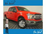 2018 Race Red Ford F150 XLT SuperCrew 4x4 #135727969
