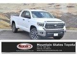 2020 Super White Toyota Tundra SR5 Double Cab 4x4 #135745134