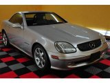 2001 Brilliant Silver Metallic Mercedes-Benz SLK 230 Kompressor Roadster #13529048