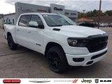 2020 Bright White Ram 1500 Big Horn Night Edition Crew Cab 4x4 #135762838