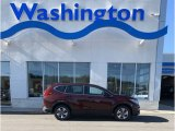 2019 Basque Red Pearl II Honda CR-V LX AWD #135762626