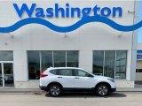 2019 Platinum White Pearl Honda CR-V LX AWD #135762624