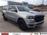 2020 Billet Silver Metallic Ram 1500 Laramie Quad Cab 4x4 #135762831