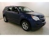 2010 Navy Blue Metallic Chevrolet Equinox LS #135762915