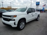 2020 Summit White Chevrolet Silverado 1500 Custom Crew Cab 4x4 #135762903