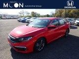 2019 Rallye Red Honda Civic EX Sedan #135762685