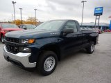 2020 Northsky Blue Metallic Chevrolet Silverado 1500 WT Regular Cab 4x4 #135780776