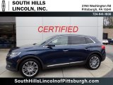 2017 Midnight Sapphire Blue Lincoln MKX Reserve AWD #135780601