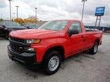 2020 Red Hot Chevrolet Silverado 1500 WT Regular Cab #135780772