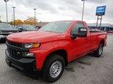 2020 Red Hot Chevrolet Silverado 1500 WT Regular Cab #135780770