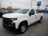 2020 Summit White Chevrolet Silverado 1500 WT Regular Cab #135780768