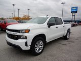 2019 Summit White Chevrolet Silverado 1500 Custom Crew Cab 4WD #135780767
