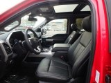 2020 Ford F150 Lariat SuperCrew 4x4 Front Seat