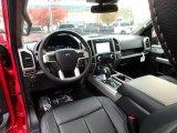 2020 Ford F150 Lariat SuperCrew 4x4 Black Interior