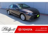 2019 Brownstone Toyota Camry LE #135814130