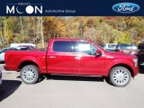 2019 Ruby Red Ford F150 Limited SuperCrew 4x4 #135814118