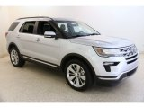 2019 Ingot Silver Ford Explorer Limited 4WD #135814176