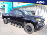 2020 Black Chevrolet Silverado 1500 Custom Trail Boss Crew Cab 4x4 #135830536