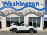 2019 Platinum White Pearl Honda CR-V EX-L #135830342